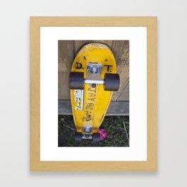 Jay Adams Z-Flex Skateboard Framed Art Print