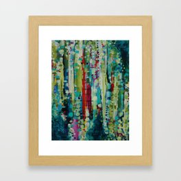 Visit to Chihuly Framed Art Print
