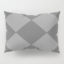 Grey Rhombus Pillow Sham