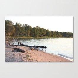 Whitefish Bay, Michigan's Upper Peninsular Canvas Print