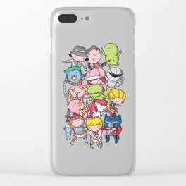80's Babies Clear iPhone Case
