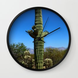 Saguaro Wall Clock