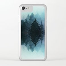 Forest Reflections II Clear iPhone Case