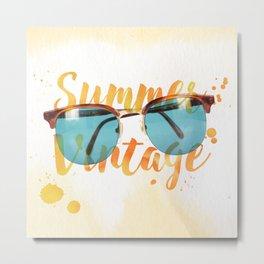 Summer Vintage Metal Print