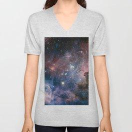 Carina Nebula Star Photography Unisex V-Neck