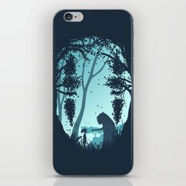 Lonely Spirit Spirited Away iPhone Skin