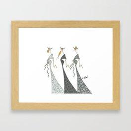 LES DELICATES Framed Art Print