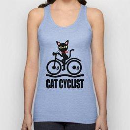 Cat Cyclist Unisex Tank Top