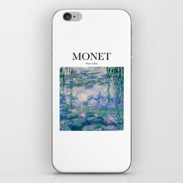 Monet - Water Lilies iPhone Skin