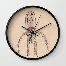 - marcel chez le coiffeur - Wall Clock