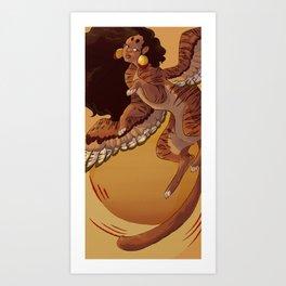 Sun Sphinx Art Print