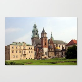 Wawel Cathedral Canvas Print