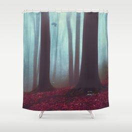 Between - Mystical Forest Shower Curtain