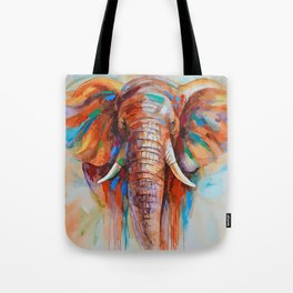 A COLORFUL ELEPHANT Tote Bag