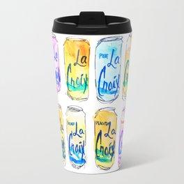Watercolor La Croix Travel Mug