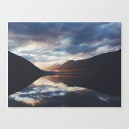 Lake Crescent Dusk   Canvas Print