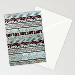Harry Tribal Print Potter- Horcrux Blue Stationery Cards