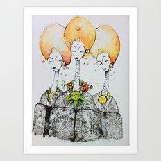 watchers Art Print