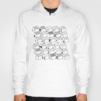architect Hoodies featuring Architect and Little Houses by lllg