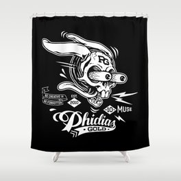 Phidias Gold Roth Shower Curtain