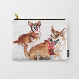 watercolor dog vol 13 corgi Carry-All Pouch