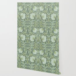 William Morris, Art nouveau pattern, beautiful art work, fabric pattern, belle époque,victorian,flor Wallpaper