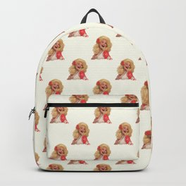 Dolly Parton - Watercolor Backpack
