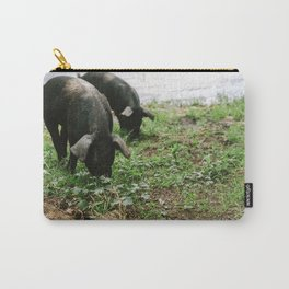 Pigs Snacking Carry-All Pouch