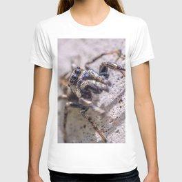 Macro Jumping Spider Photograph T-shirt