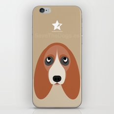 Basset iPhone & iPod Skin