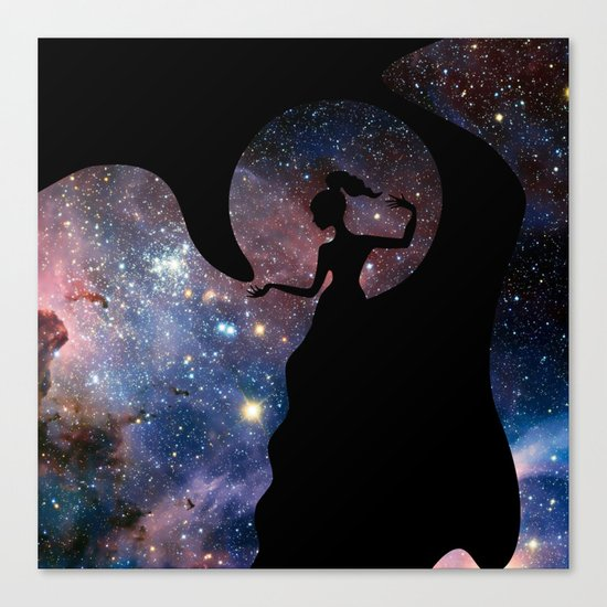 Galaxy From Within Canvas Print