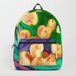 Tulips in a Bunch Backpack