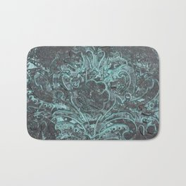 Bronze and Blue (Patina series) Bath Mat