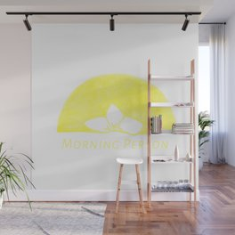 Plumeria Sunrise - Morning Person Wall Mural