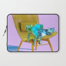 animals in chairs #12 Cats Laptop Sleeve
