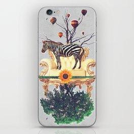 The world upside down. iPhone Skin