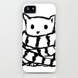 Never Warm Without You iPhone Case