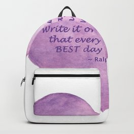 Heart Quote Backpack