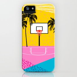 91ee901b33 Dope - memphis retro vibes basketball sports athlete 80s throwback vintage  style 1980's iPhone Case