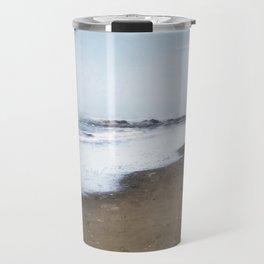 A Sandy World At Her Feet Travel Mug
