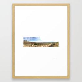 Hiking Los Lunas Hill Framed Art Print
