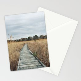 Nature walk in Cape May Stationery Cards