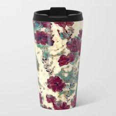 Floral Dreams 10 Metal Travel Mug