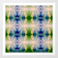 Blazing Brushstrokes  Art Print