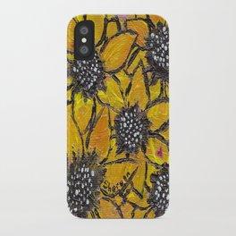 Sun-smiles iPhone Case