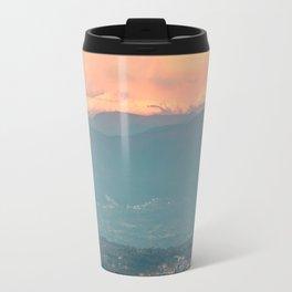 Sunset on the Italian Apennines Travel Mug