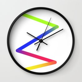 Vast Mixes Wall Clock