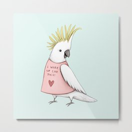 Pretty Cockatoo Metal Print