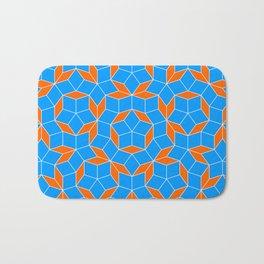 Penrose Tiling Pattern Bath Mat