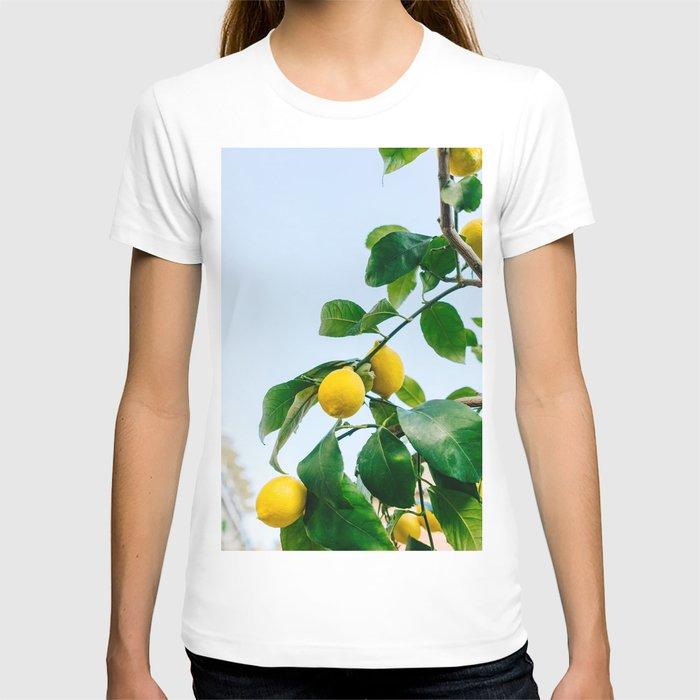 Amalfi Coast Lemons III T-shirt